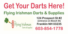 Flying Irishman Darts & Supplies